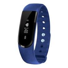 ID101 Bluetooth Smart Браслет oled-смарт сердечного ритма Мониторы Фитнес трекер музыка Управление смарт-браслет ID107 обновлен