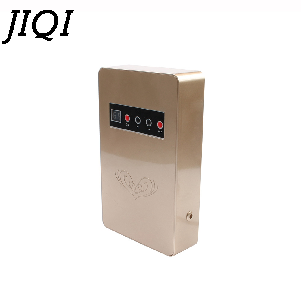 JIQI Fruit Vegetable Disinfection Washing Machine Air Purifier Ozone Generator Water food Sterilizer Deodorant Cleaner Ozonizer self powered water ozone generator ozonizer household faucet tap o3 water filter purifier wash fruit vegetable face sterilizer