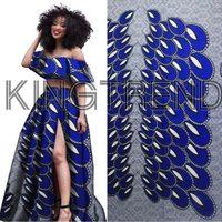 Free Shipping Best Quality Veritable Dutch Real Wax Hollandais Wax African Printed Fabric 100 Cotton Nigeria