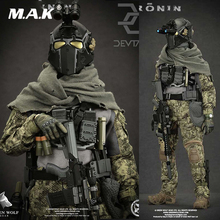 Full set with weapon gun 1/6 Green Wolf Gear ES DEVTAC Ronin GWG-007 Action Figure Collection Doll Toys Gift