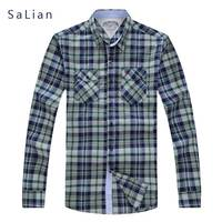 2017New Business Long Sleeved Shirt With High Quality Cotton Fabric