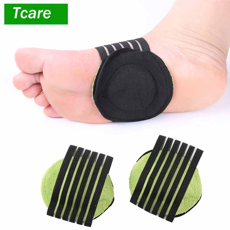 1Pair Correct Flat Foot Arch Support Orthopedic Insoles Women Men Half Shoe Insoles Feet Car Mat Breathable Shoes Pad