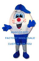 Humpty Oeuf Costume De Mascotte Taille Adulte Oeuf De Pâques Mascotte Mascota Outfit Costume Fancy Dress Carnaval Cosply Costume Party SW1145