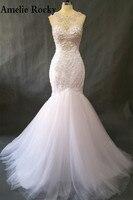 Vestido Noiva White Pearl Ball Gown Wedding Dresses Bridal Dress Vintage Princess Wedding Gowns Vestido De