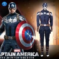 2014 New Superhero American Captain Cosplay Costume Winter Soldier