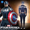 2014 New Superhero American Captain Cosplay Costume Winter Soldier