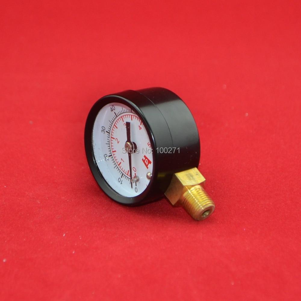 1,5 colio 40 mm 70psi manometras, 5 kg / cm2 5bar manometras, PT1 / 8 - Matavimo prietaisai - Nuotrauka 1