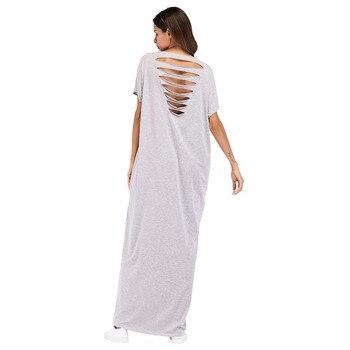 #187052 Hot Sell Muslim Fashion Women Euramerica Floral Technology Backless Dress Robe Muslimfashion Abaya Mujers