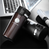 Hot Sales 380ml Double Wall Stainless Steel Vacuum Flasks Car Thermo Cup Coffee Tea Milk Travel