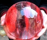 12.3 livres Rouge FUSION quartz belle orbes à guérir