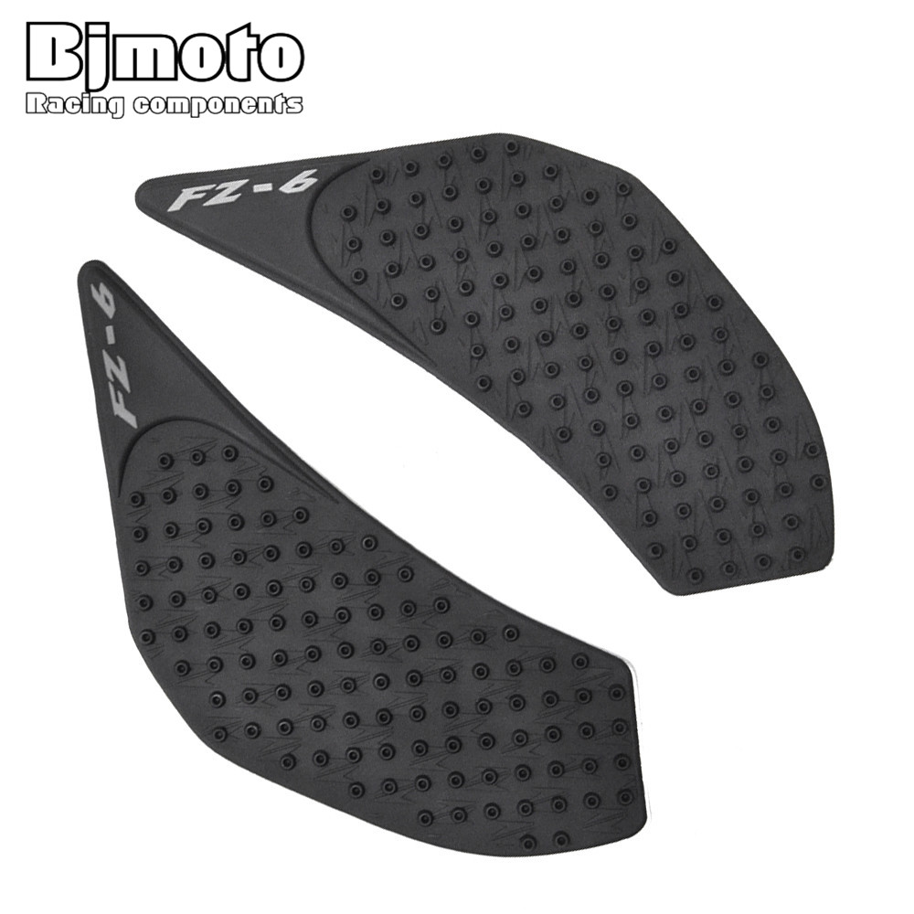 Punctual Tpp01-fz6n/06-bk New For Yamaha Fz-6n 2006-2010 Anti Slip Sticker 3m Motorcycle Tank Traction Pad Side Knee Grip Protector Automobiles & Motorcycles