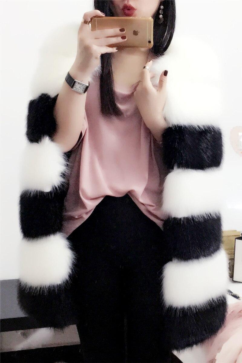 Couture Gilet Fourrure Artificiels Et De Herbe Hiver Imitation Mince Longs Automne 2017 Renard Cheveux Multi Mode Nouvelle xzZXAnPwq