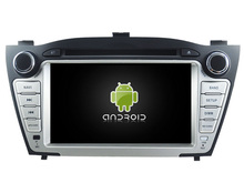 Android CAR Audio reproductor de DVD gps PARA HYUNDAI IX35 2009-2013 cabeza de navegación Multimedia unidad dispositivo receptor