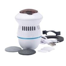 Электрический пылесос Электрический футер Pedi vac электрический шлифовальный станок для ног для омертвевшей кожи Массажная вакуумная основа