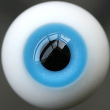 16mm Blue SD DZ DOD LUTS BJD Dollfie Glass Eyes Outfit