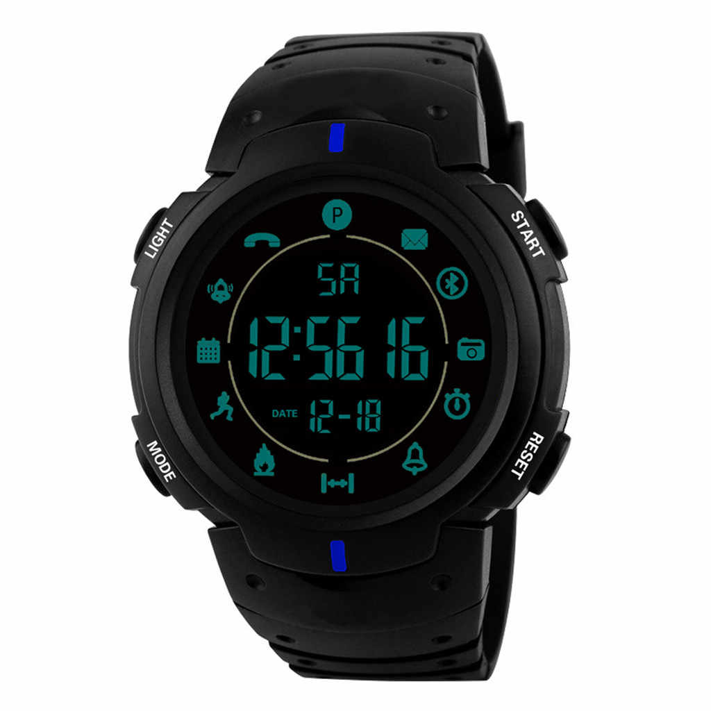 2019 Vlaggenschip Robuuste Smart elektronische digitale horloge 33-maand Standby-tijd 24 h All-Weather Monitoring relogio klok sport horloges