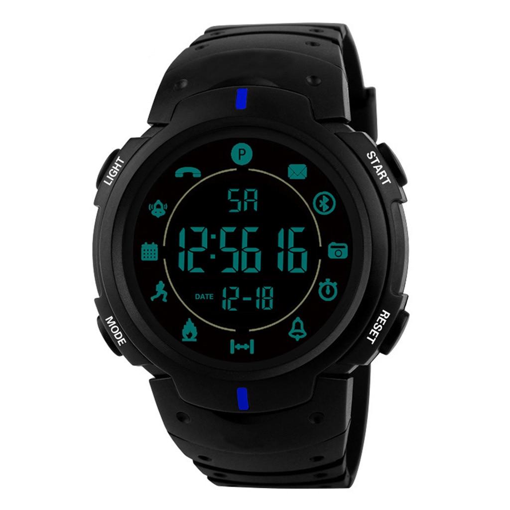 100% QualitäT 2019 Flaggschiff Robuste Smart Elektronische Digitale Uhr 33-monat Standby Zeit 24 H Alle-wetter Überwachung Relogio Uhr Sport Uhren Farben Sind AuffäLlig
