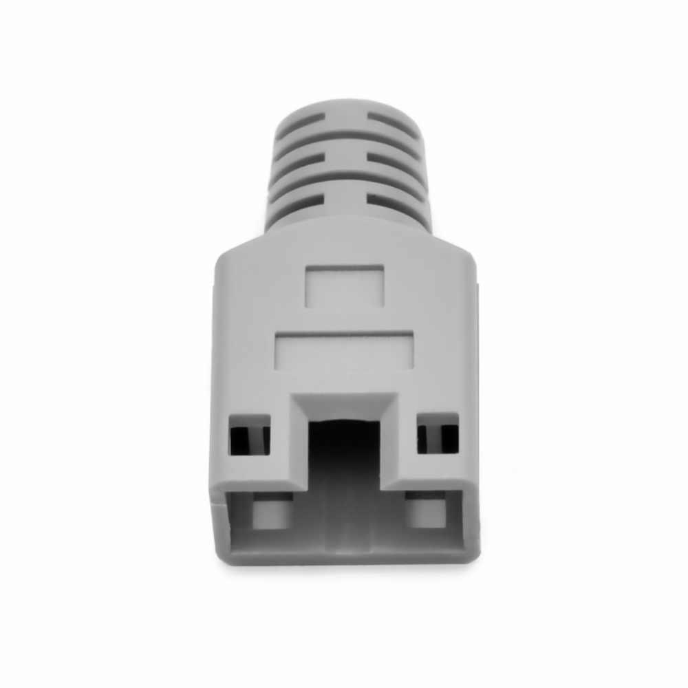 CNCOB rj45 Ethernet хвост карабин специальный Защитный чехол-кабель с кристаллической головкой защитный воротник коготь Диафрагма: 6,3 мм