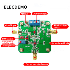 Image 2 - AD8368 module Controlled Gain Amplifier Operational Amplifier Differential Amplifier Competition Module