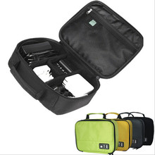 Digital Storage Bag Pouch Earphone Data Cables USB Flash Drives Travel Accessories Case Electronic Handbag Men Organiza