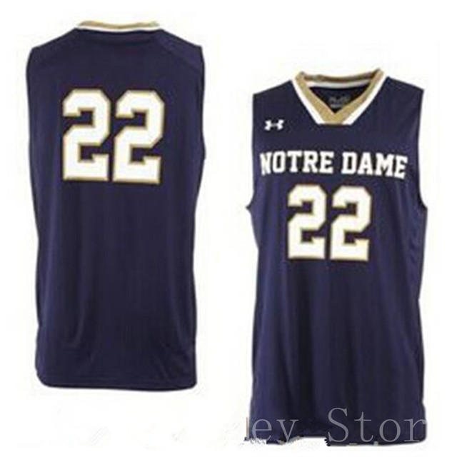... denmark 2015 draft notre dame irish college 22 jerian grant basketball  jersey retro navy blue 04a6b 3a0ea01cb
