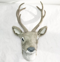 free shipping christmas gift deer head decoration decorative deer head mounts