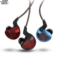 KZ ZS10 In Ear Earphone 10 Driver Hybrid HIFI DJ Monito With Microphone Headset Headphone For