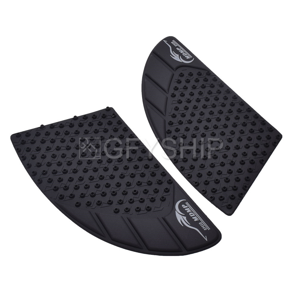 Arashi Anti slip Gas Tank Pad Protector Stickers Knee Grip Traction Side Pads for SUZUKI GSXR 1000 2017 2018 2019 Motorcycle Accessories GSX-R 1000 GSX-R1000 GSXR1000 Black 17 18 19