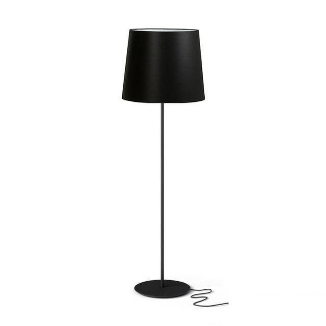 Creative simple floor lamps modern standing lamp black ...