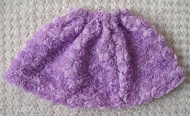 7 cols calidad superior del cabrito del florista de la falda faldas del tutú del verano estilo de la princesa para el sector minorista 1-5 años envío gratis