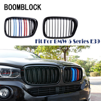 Car Kidney Front Racing Grills For BMW E39 5 Series 1995 1996 1997 1998 1999 2000 2001 2002 2003 2004 525i 528i 530i Accessories