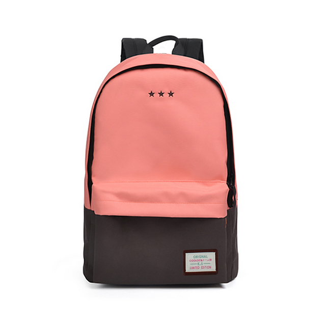Fashion Women Korean Style Canvas Backpack For Teenage Girls Student School Bags Brand Design Women Laptop Backpack Ladies Bag