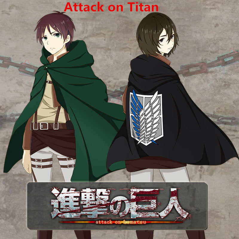 Shingeki No Kyojin Attack On Titan Mikasa Eren Jaeger Levi