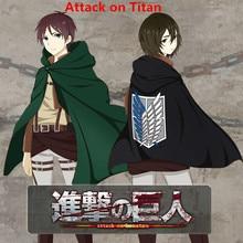 Shingeki no Kyojin Attack on Titan Mikasa Eren Jaeger Levi Ackerman Cosplay Costumes Women