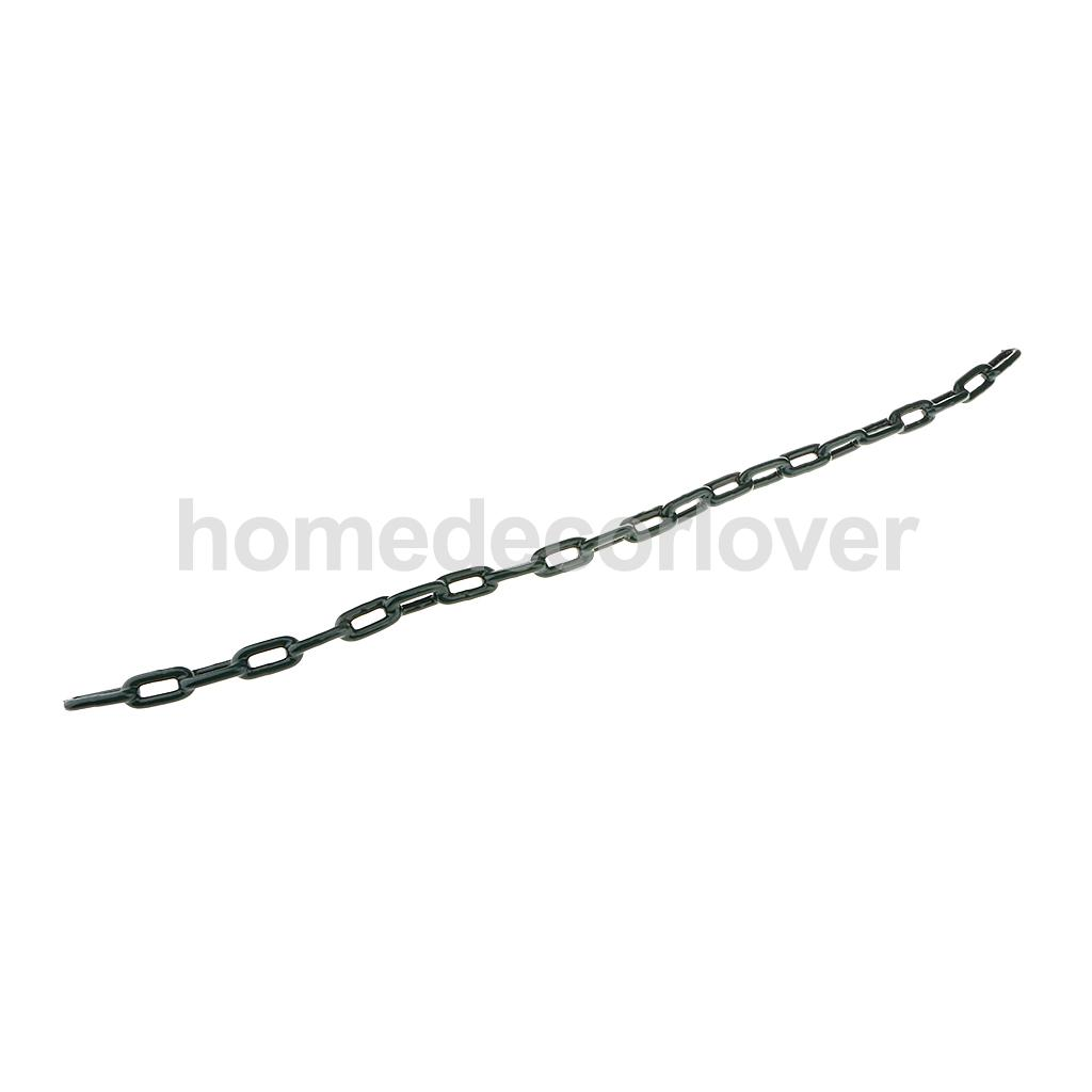 Durable Plastic Coated Iron Swing Link Chain 1.5 M Length Outdoor Toy Accessory Green