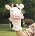 Toy Story 1 unid 25 cm ventriloquia para dormir de felpa pacificar bosque marionetas de mano de la leche de vaca de dibujos animados educativos niños regalo infantil