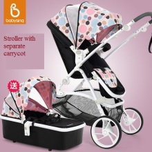 Deluxe European En1888 standard baby stroller and carrycot,2 in 1,travel system,pushchair/pram