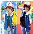 Бесплатная Доставка Pokemon Ash Ketchum Тренер Костюма Рубашки Куртки не с Перчатки, Шляпу, S, M, L, XL, 2XL