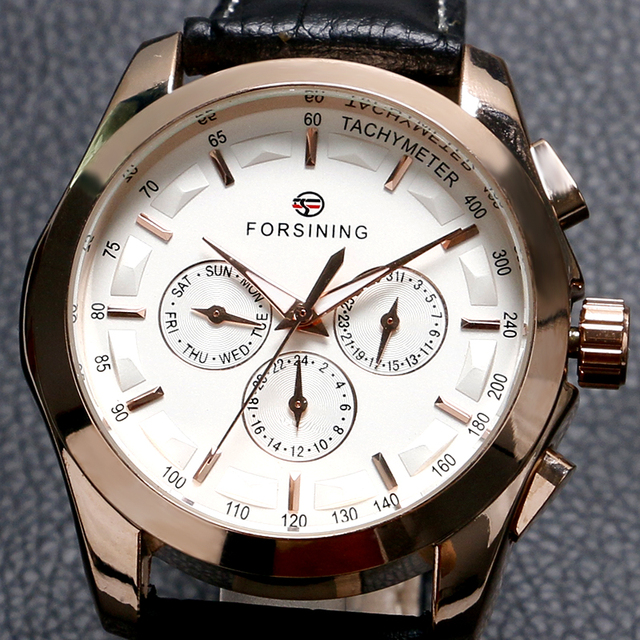 cool luxury Forsining brand mechanical hand winding wrist watch men male fashion casual   watches relogio masculino W181902