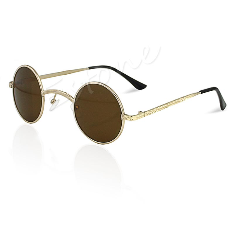 d42c2ea269 Fashion Mens Womens Retro Style Round Glasses Cyber Goggles Steampunk  Sunglasses free shipping-in Sunglasses from Apparel Accessories on  Aliexpress.com ...