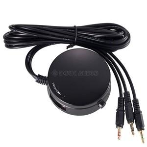 Image 3 - Mini headset para computador, controle de volume do computador, fone de ouvido, alto falante, interruptor de áudio com microfone, 3.5mm
