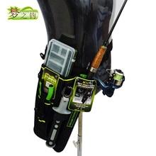 Dream Fishing 19x6x33cm Fishing Bag + Lure Box 1200D Nylon Waist Leg Bag Fishing Rod Holder Tools Storage Case Pesca Bolsa Peche