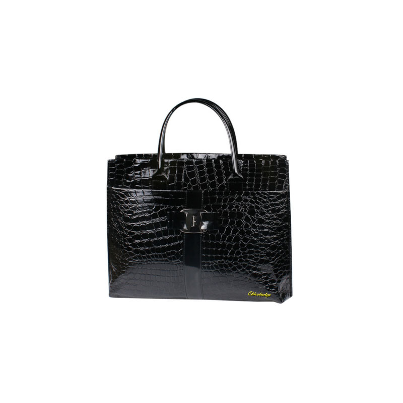 CCHICOLADYZ Spanish luxury women's handbag with high quality leather alligator strap women shoulder bags zipper pocket bolsa