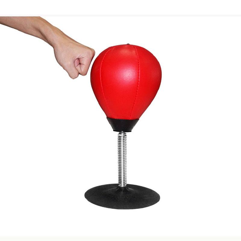 PU-Leder Boxing Ball Geschwindigkeit Dodge Punch Ball Adsorption Überall