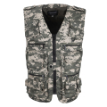 2017 Men's Clothing With 16 pockets Cansual Camouflage Men Vest Cotton Regular Vest Men Plus Large Size 5XL With Hidded Pockets