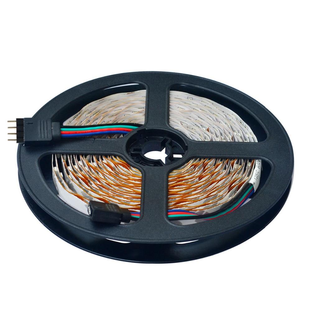 500CM 25W 300X3528 SMD RGB LED şeridi işıq W / Uzaqdan idarəedici - LED işıqlandırma - Fotoqrafiya 2