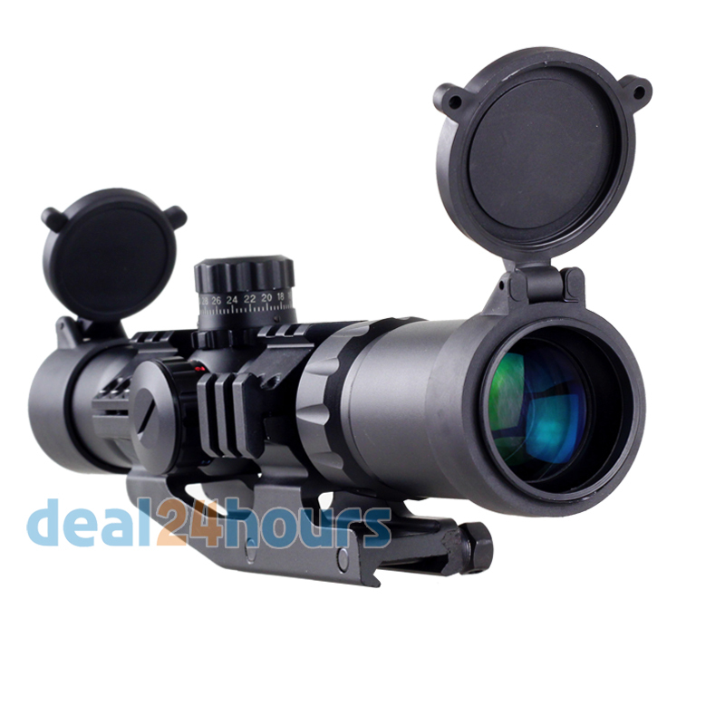 New Aim Sports Recon Series 1.5-4 X 30 Tactical Scope Shockproof Waterproof Free Shippin ...