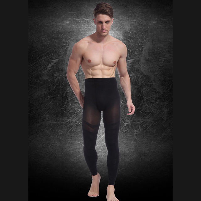 Sexy Fashion Men Pants Thin Carry Buttock Thin Leg Ninth Pants Slimming Body Shaper Tighten The Dewlap for Mens New Year's Gifts