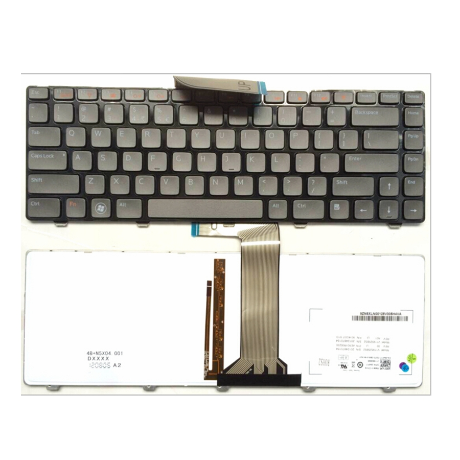все цены на English NEW Laptop Keyboard For Dell for Vostro 3560 V131 Xps 15 L502x N4110 US With backlight онлайн