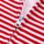 New Casual Listrado Vermelho Com Capuz Romper 100% Macacão de Algodão One piece-Roupa Do Bebê